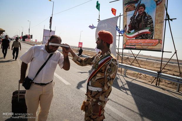 رویکرد ناجا تأمین امنیت ۱۰۰درصدی زائران حسینی است