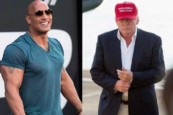 «راک» خود را برای ریاستجمهوری آماده میکند/ رقابت با ترامپ
