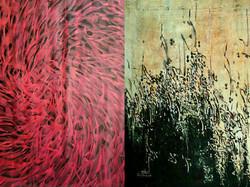نمایشگاه مشترک هنرمندان ایرانی و ایتالیایی با عنوان «ضمیر و مضمون»  در ایتالیا