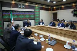 نشست هماهنگی سرمایه گذار یخارجی استانداری کرمانشاه