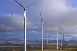 تدشين مشروع انتاج المادة الاولية لتصنيع مروحية عنفات الرياح في ايران