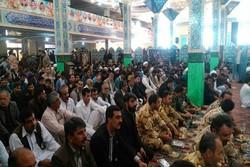 مراسم بزرگداشت پدر سردار سلیمانی در زاهدان برگزار شد