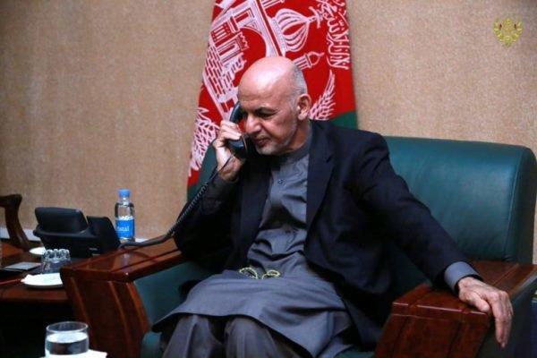 امریکی قومی سلامتی کے مشیر کی افغان صدر سے ٹیلیفون پر گفتگو