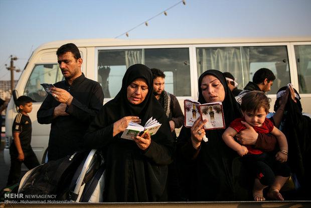 أجواء كربلاء قُبيل الاربعين الحسيني