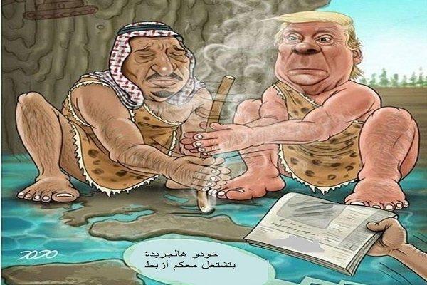 ترامب وسلمان يشعلان نار الفتنة في المنطقة