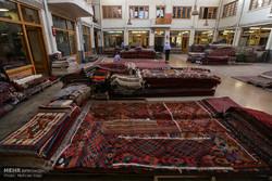 Tehran carpet market in grand Bazaar