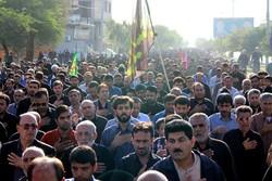 پیاده روی مشتاقان حسینی در جیرفت برگزار شد
