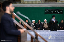 Leader attends Arbaeen mourning ceremony in Tehran