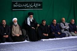إقامة مراسم الأربعين الحسيني بحضور قائد الثورة الاسلامية /صور
