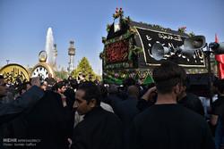 مشہد مقدس میں شہدائے کربلا کا چہلم