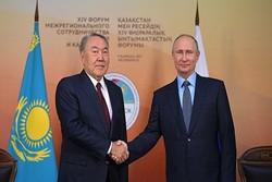 پوتین و نظربایف