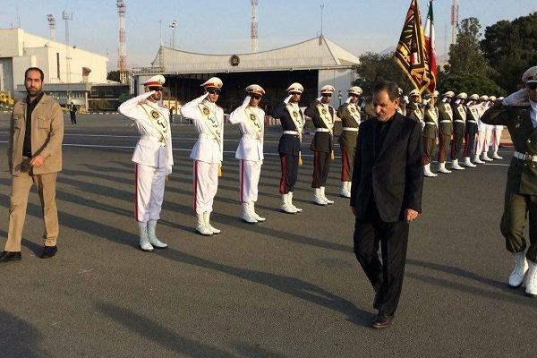 جهانغيري يتوجه إلى النجف للانضمام إلى مسيرة الأربعين الحسيني