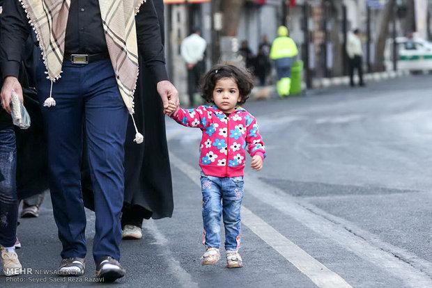 راهپیمایی جاماندگان اربعین حسینی از امامزاده حسن