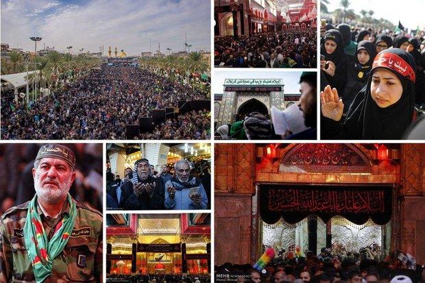 ایران میں سیدالشہداء کا چہلم مذہبی عقیدت اور احترام کے ساتھ منایا جارہا ہے