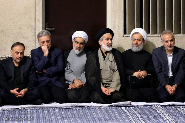 إقامة مراسم عزاء الأربعين الحسيني بحضور قائد الثورة الاسلامية