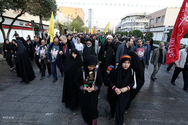 راهپیمایی بزرگ اربعین در تهران
