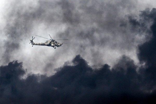 """مروحية """"مي-8"""" الروسية تهبط اضطراريا في شمال موسكو"""