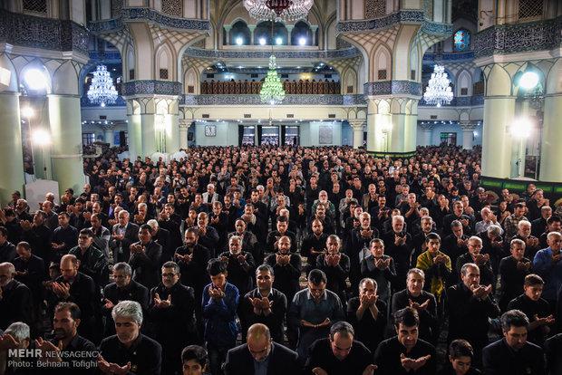 عزاداری اربعین حسینی در حرم حضرت عبدالعظیم علیه السلام