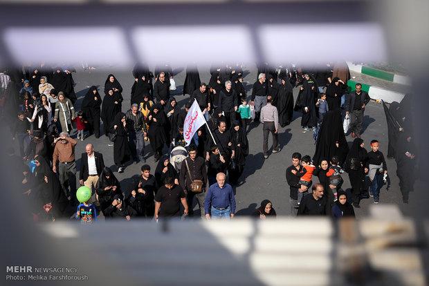 پیاده روی جاماندگان اربعین در شادگان برگزار می شود
