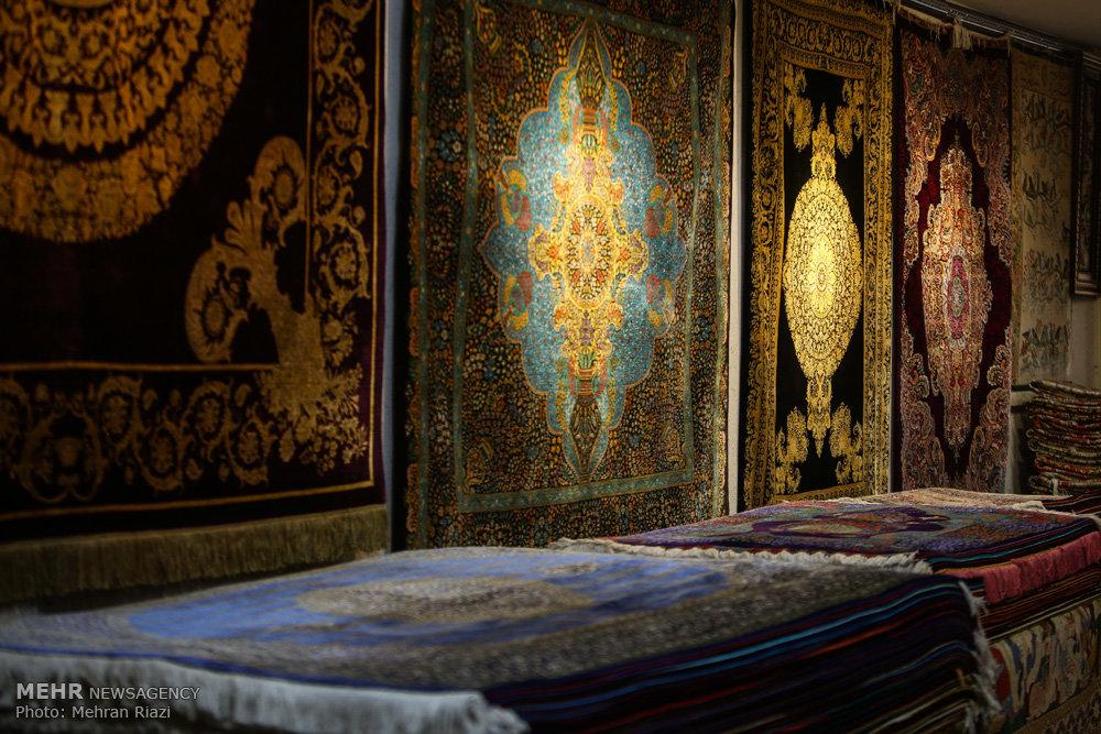 Mehr News Agency Tehran Carpet Market In Grand Bazaar