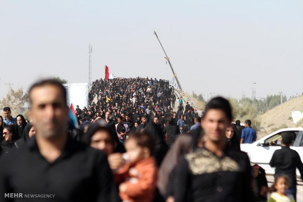 عکس اربعین سیرجان