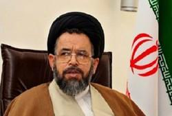 حضور وزیر اطلاعات در میان موکب های شلمچه