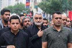 حضور علاء الدین بروجردی رئیس کمیسیون امنیت ملی و سیاست خارجی مجلس در مراسم اربعین