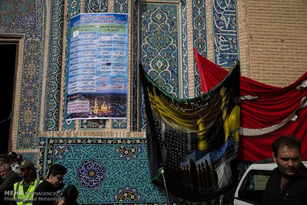اربعین حسینی در مسجد جامع یزد