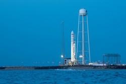 تصاویر آماده سازی موشک «آنتارس» برای پرتاب به فضا