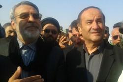 وزیر کشور در مرز مهران - کراپشده