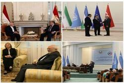 ظریف سمرقند را به مقصد تهران ترک کرد