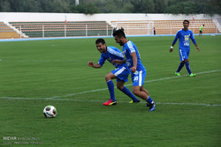 اردوی تیم فوتبال استقلال در کیش