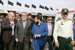 وزیر کشور در شلمچه