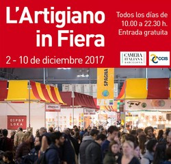 A poster for the 22nd International Craft Selling Exhibition (L'Artigiano in Fiera)