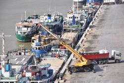 إستقرار 4 سفن في ميناء خرمشهر لنقل الزوار من ايران الى البصرة