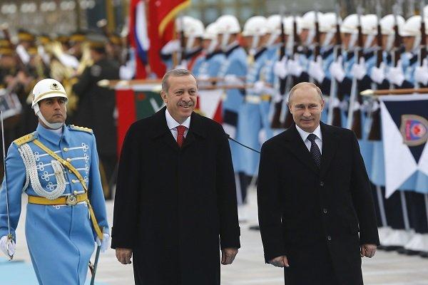 اردوغان ۱۹ فروردین با پوتین دیدار می کند
