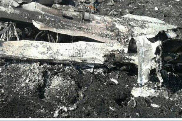 سقوط هواپیمای نظامی در سروستان فارس