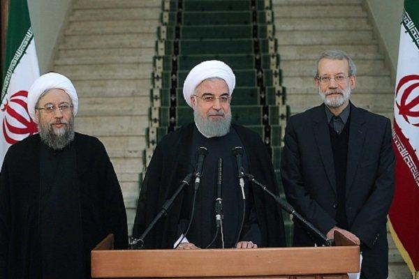 اجتماع مرتقب بين رؤساء السلطات الثلاث باستضافة البرلمان الإيراني