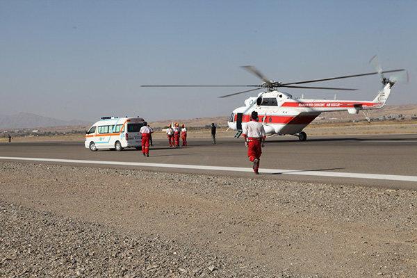کمک رسانی هوایی به منطقه پیچاب باشت/ انتقال اقلام امدادی