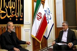 رئیس و مسئولان جهاد دانشگاهی با لاریجانی دیدار کردند