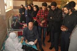 فرماندار همدان از مرکز نگهداری شبانهروزی سالمندان بازدید کرد
