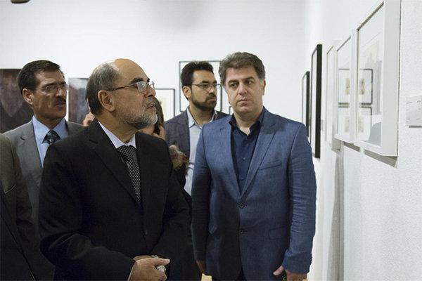بازدید سفیر افغانستان از نمایشگاه نیمروز