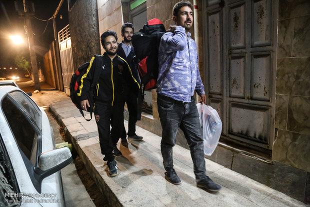 مدينة أهواز تستقبل الزوار العائدين من كربلاء
