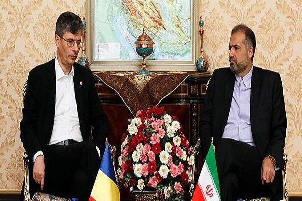 ايران ورومانيا تؤكدان على ضرورة تعزيز العلاقات الثنائية