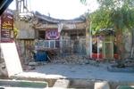 Serpol Zahap'ta meydana gelen hasardan görüntüler