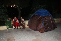فوری ترین نیاز در قصر شیرین چادر برای عملیات اسکان اضطراری است