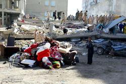 """الآثار المدمرة للزلزال في """"سربل ذهاب"""" غرب ايران /صور"""