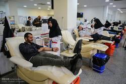 روزه داران تهرانی ۱۳ هزار واحد خون اهدا کردند