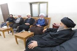 دیدار اعضای ستاد فرهنگی اربعین با آیت الله مدرسی