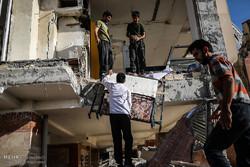 خسارت های زلزله در سرپل ذهاب
